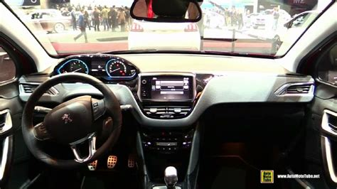 peugeot 2008 interior 2017 2017 peugeot 2008 at 2016 geneva motor