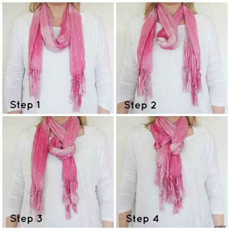stylish with a scarf and smart ways to tie the