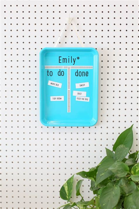 easy diy magnetic chore charts