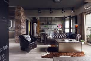Apartment Theme Ideas Fabulous Marvel Heroes Themed House With Cement Finish And Industrial Feel