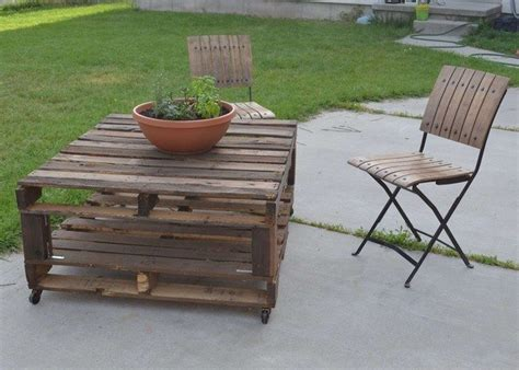 build your own patio furniture diy your own pallet patio furniture decor around