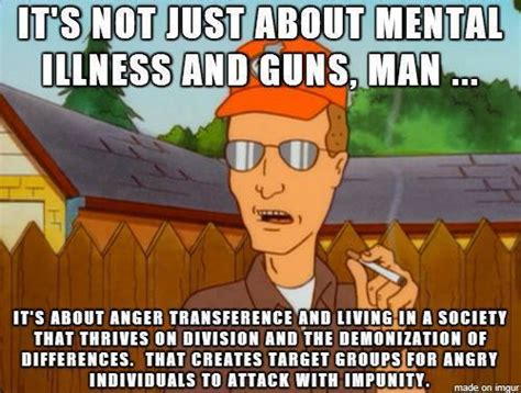 Mental Illness Meme - acerbic politics gun violence is not just about mental