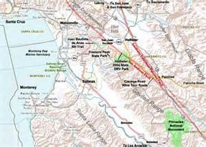 earthquake map hollister ca