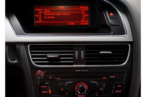 Audi Radio Chorus by Audi Aux Ami Ipod Iphone A2dp Bluetooth Eftermontering
