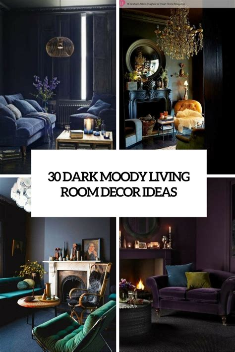 dark home decor 30 dark moody living room d 233 cor ideas digsdigs