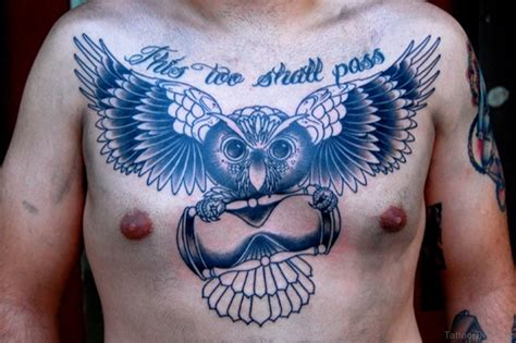 tattoo owl chest 50 attractive owl tattoos designs on chest