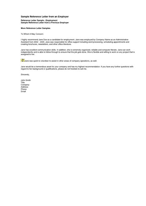 letter of recommendation cover sheet doc 12751650 employment reference request template