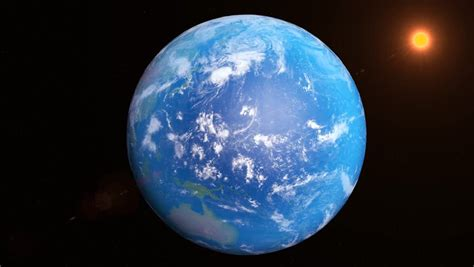 earth rotating  world stock footage video