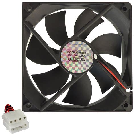 4 pin case fan 120mm 4 pin ide pc computer gaming chassis case thermal