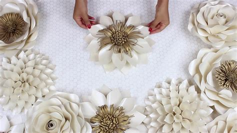Wedding Backdrop Design Template by Diy Paper Flower Tutorial My Wedding Backdrop Flowers