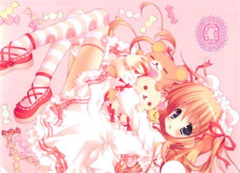 wallpaper anime girl kawaii kawaii anime wallpaper wallpapersafari