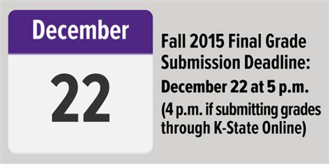 Fall 2015 Deadlines For Mba In Us by Grade Deadline Is 5 P M Tuesday Dec 22 It News