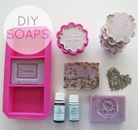 How To Make Handmade Soap At Home - diy how to make lavender soaps skimbaco lifestyle