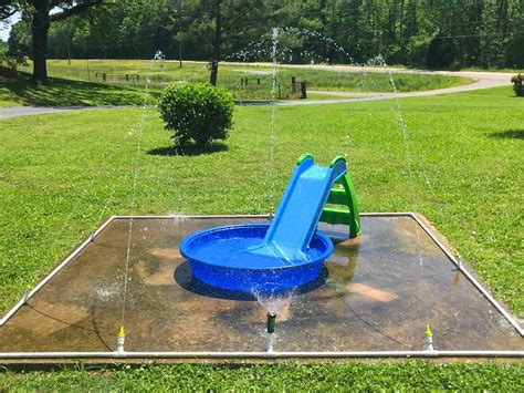 backyard splash pad diy diy backyard splash pad 2017 2018 best cars reviews