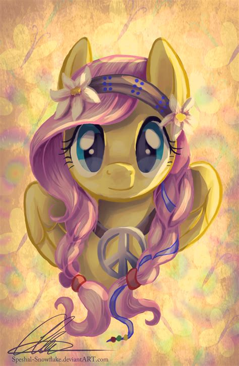 my pony painting fluttershy my pony friendship is magic fan