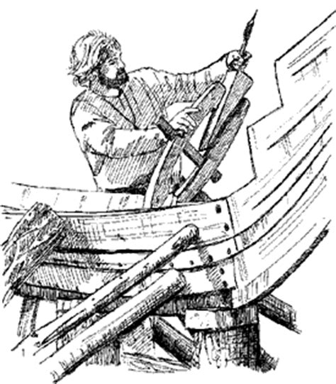 how to draw a boat from above viking ship construction regia anglorum