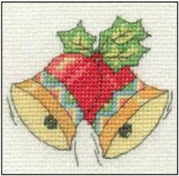 dmc christmas mini counted cross stitch kit 16 designs