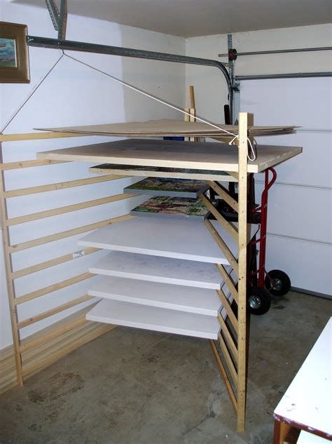 Painting Drying Rack by Arlon Rosenoff Drying Racks
