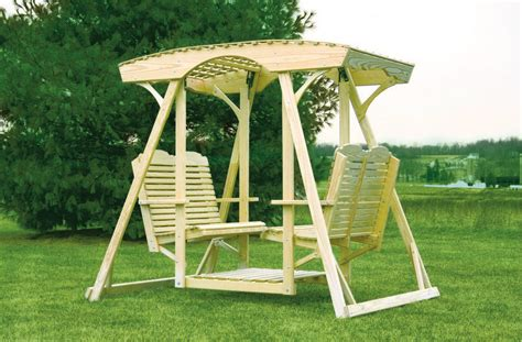 double glider swing outdoor furniture high quality lawn and garden furniture