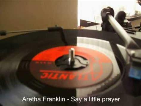aretha franklin think testo aretha franklin i say a prayer lyrics