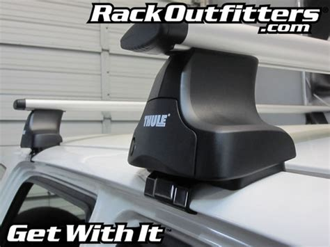Rack Outfitters by Rack Outfitters Honda Cr V Thule Rapid Traverse Silver