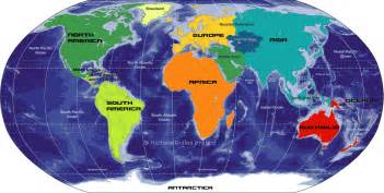 World Map Oceans by World Oceans And Continents The World Maps Long Hairstyles