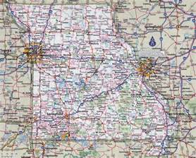large detailed roads and highways map of missouri state
