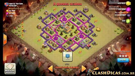 coc layout para guerra clash of clans layout para guerra