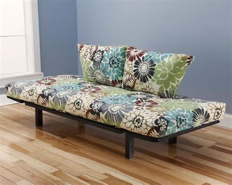 futons and daybeds hennepin contemporary daybed futon lounger with black