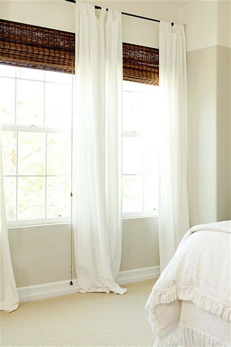 doors windows master bedroom sheer curtain treatment ideas curtain treatment ideas custom sw worldly gray band and ceiling swiss coffee by dunn