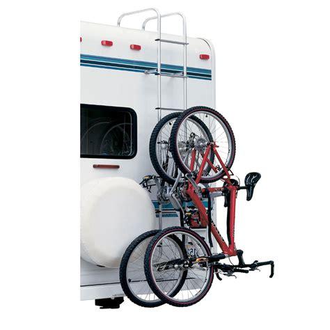 Rv Ladder Bike Rack by Topline Ladder Mounted Bike Rack For Square Step