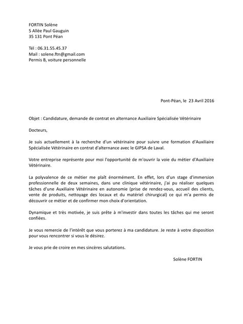 Lettre De Motivation Ecole Vente Lettre De Motivation Contrat Gipsa Solene Fortin Lettre De Motivation Contrat Gipsa Solene
