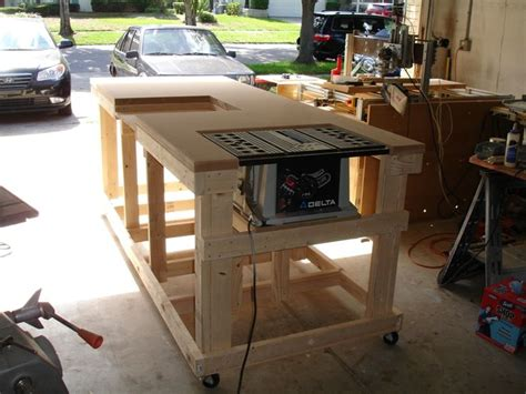 backyard workshop ultimate workbench i will design one