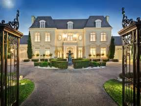 style mansions chateau style gated mansion in australia