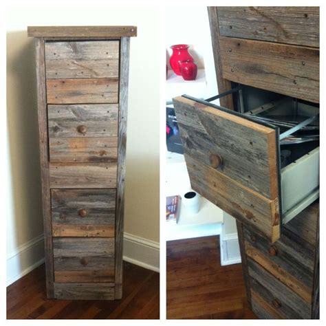 diy reclaimed wood file cabinet from quot creating the