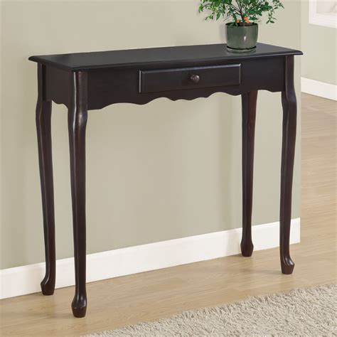 Entryway Console Table Foyer Console Table Foyer Center Tables Country Walnut Console Table With Iron Accent Wood