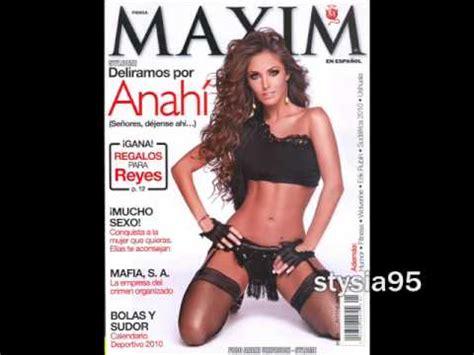 fotos revista maxim bailarinas de pasion anahi fotos de la revista maxim 2010 youtube