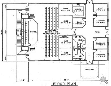 steel church buildings floor plans home ideas