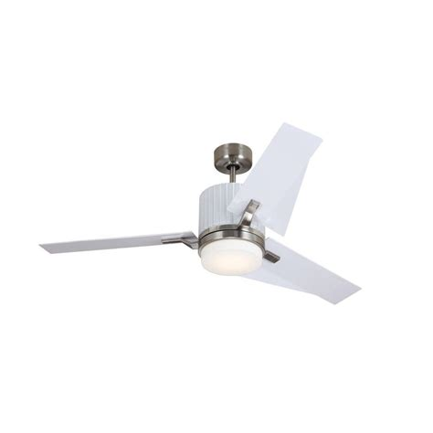 Hton Bay Vercelli Ceiling Fan by Hton Bay Vercelli 52 In Brushed Steel Ceiling Fan