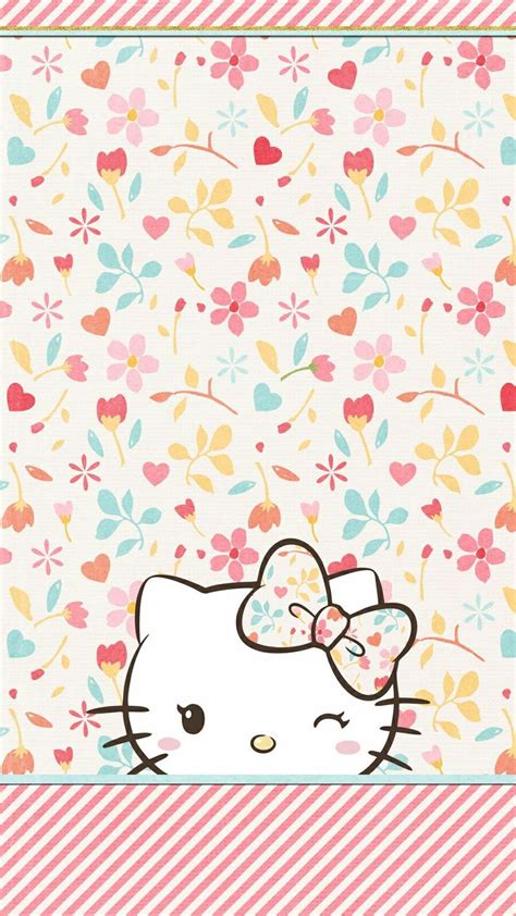 hello kitty wall wallpaper 100 best hello kitty cell phone wallpaper images on