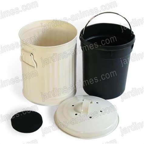 poubelle compost pour cuisine poubelle de table 224 compost 3l pour la cuisine