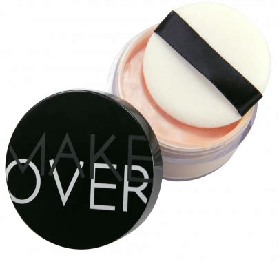 Bedak Translucent Makeover Make Kosmetik Silky Smooth Translucent Powder