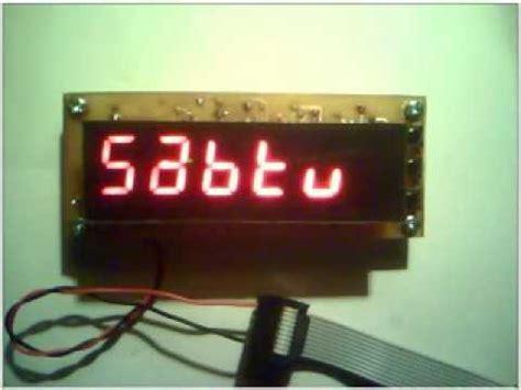 cara membuat jam digital led kronogps jam digital dengan gps dan lain lain doovi