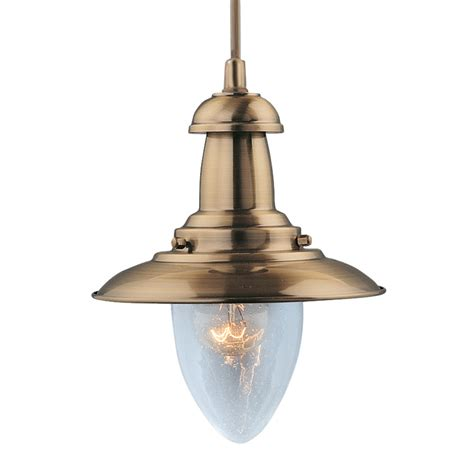 searchlight 5787ab fisherman 1 light ceiling fitting