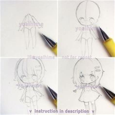 tutorial instagram on my hand chibi poses this is good reference chibis