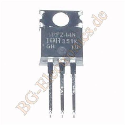 transistor irfz44n pbf irfz44n bg electronics irfz44n