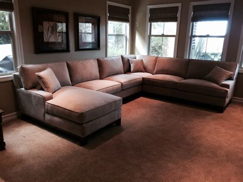 home theater sectional sofa media room sectionals contemporary home theater los