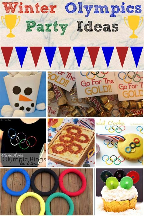 Rice Krispies Olympic Torch   Winter Olympics Party Ideas