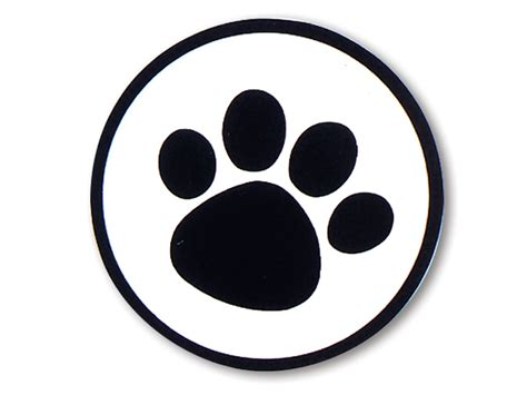 Large Paw Print Clip by Free Paw Print Template Free Clip Free Clip
