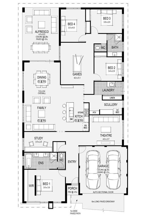 check out the beautiful vienna display home s floorplan